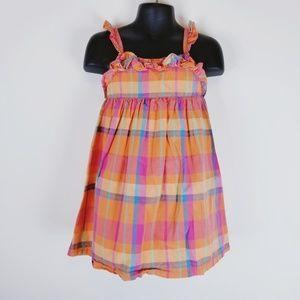 Penelope Mack LTD. girl plaid ruffle soon dress 3T
